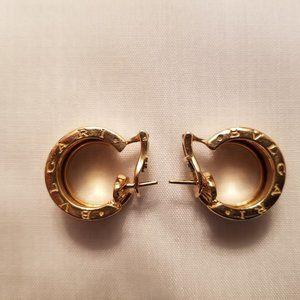 Authentic Bulgari B.Zero-1 Hoop Earrings